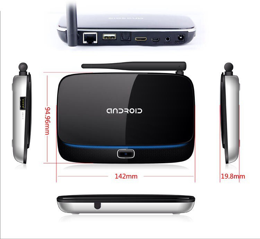 Android Smart TV Box Quad Core 2G+8G Q7